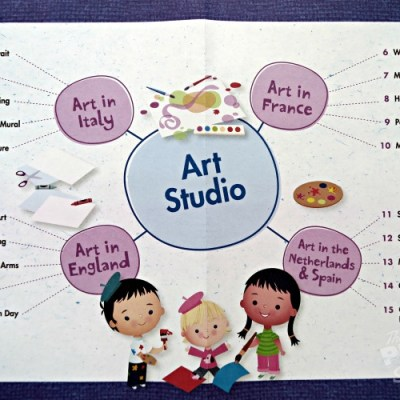 Art Studio (Sneak Peek) with Mother Goose Time