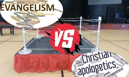 Tactical Mission: Evangelism vs. Apologetics