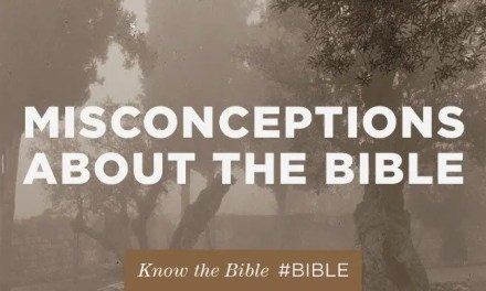 8 misconceptions about the Bible