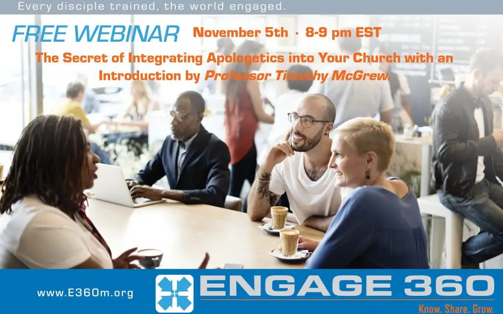 Free Webinar: The Secret to Integrating Apologetics in the Church