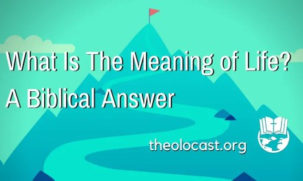 The Meaning of Life: A Biblical Answer