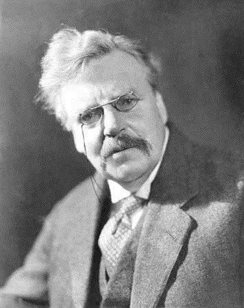 G.K. Chesterton: the Materialist Explanation