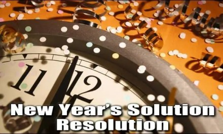 New Year's Solution Resolution