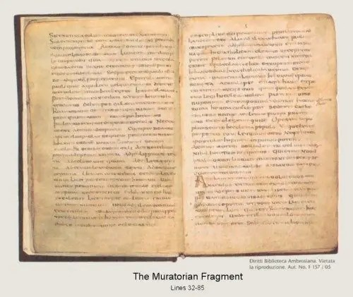 Ten Basic Facts about the NT Canon that Every Christian Should Memorize: #6: At the End of the Second Century, the Muratorian Fragment lists 22 of our 27 NT books