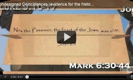 Undesigned Coincidences (evidence for the historicity of the Gospels)