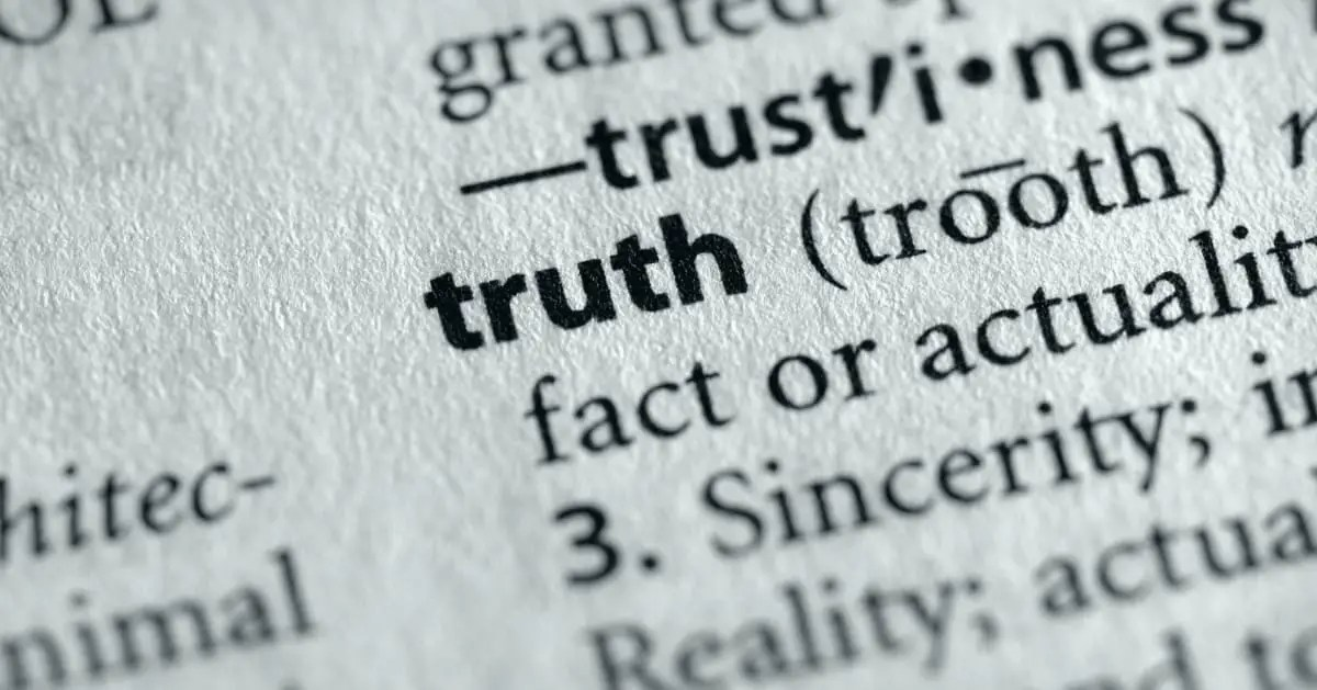 Why the Truth Question Still Matters