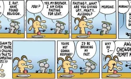 Humor Break: Rat on 'Religion'