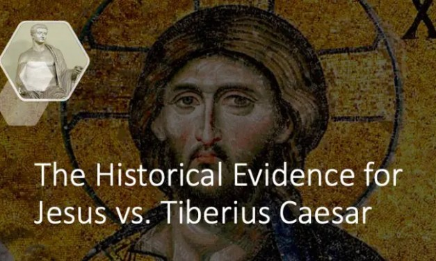 The Historical Evidence for Jesus vs. Tiberius Caesar
