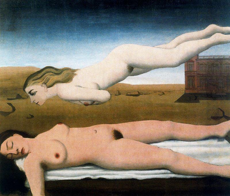 """Paul Delvaux, """"Vis"""" (1935)"""