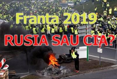 """Protestul """"vestelor galbene"""": Cine se află în spatele vestelor galbene din Franța; CIA sau RUSIA?"""