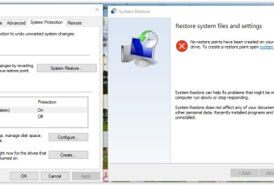 Cum se restaurează sistemul în Windows 10?