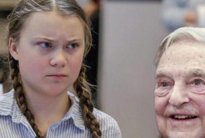 "Greta Thunberg, ""comsomolista"" lui George Soros"