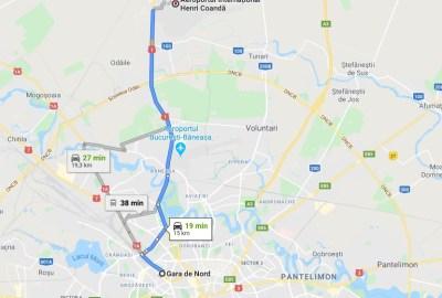 Cum ajungi de la Gara de Nord la Aeroportul Otopeni?