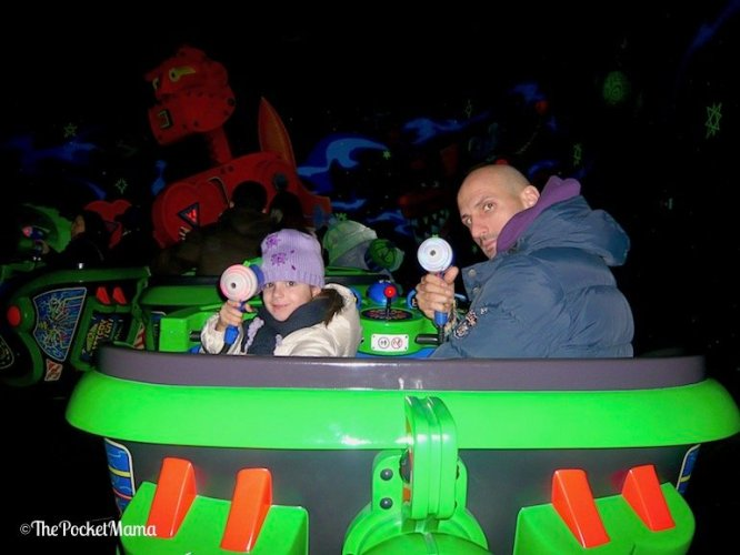 Buzz Lightyear Laser Blust a Disneyland Paris