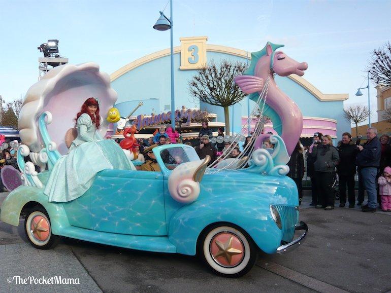 La Sirenetta ai walt Disney Studios