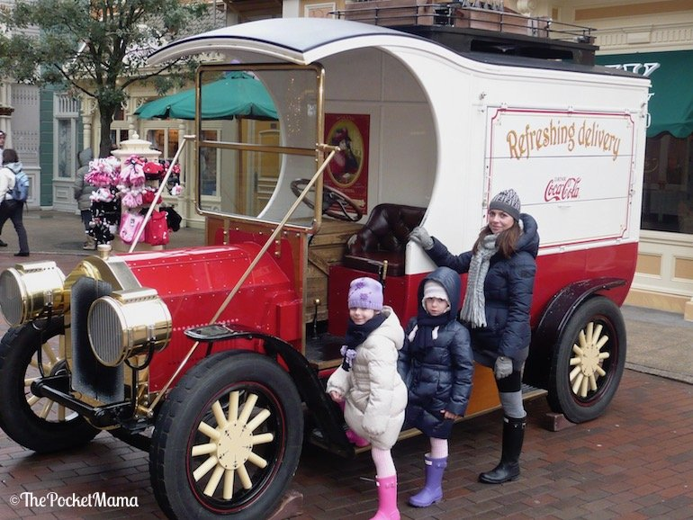 auto d'epoca a Disneyland Paris