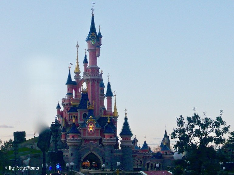 castello della bella addormentata a disneyland paris