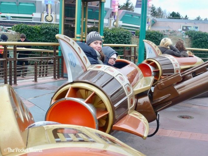 navicelle Orbitron a Disneyland Paris