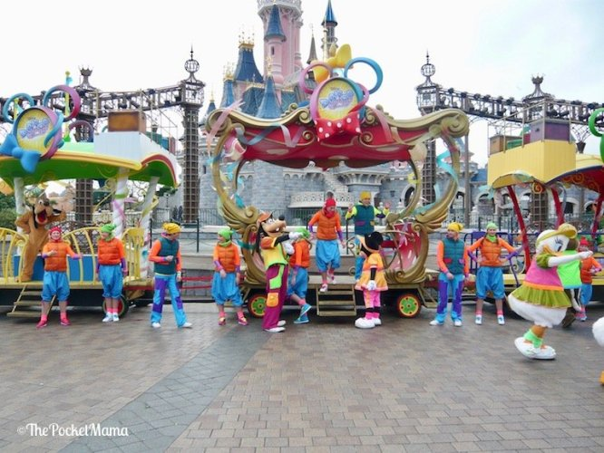 treno Dance Express a Disneyland Paris