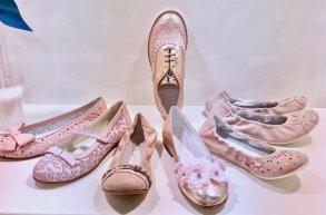 ballerine rosa ninette en fleur SS 2017