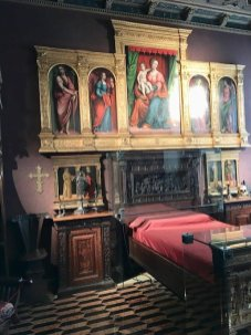 camera da letto valtellinese museo bagatti valsecchi