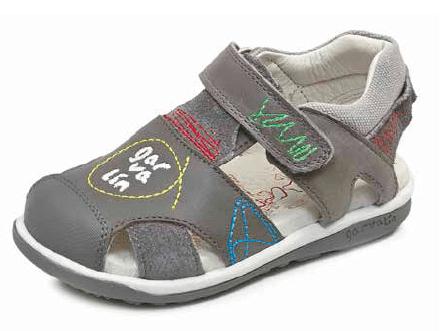 sandal boy grigio garvalin SS 2017