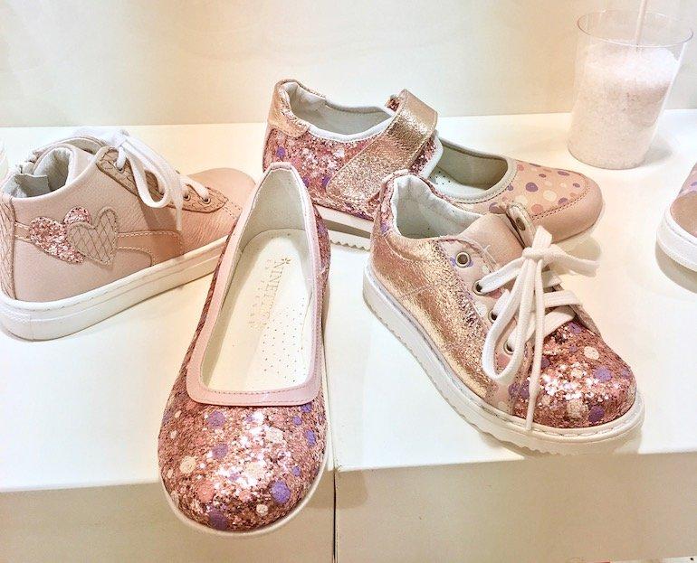 scarpe bambina ninette en fleur SS 2017