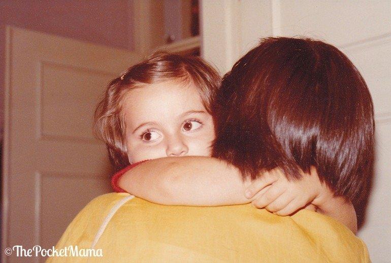 abbraccio alla mia mamma - festa della mamma