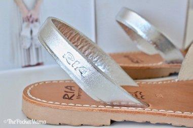 cinturino minorchine glitter argento