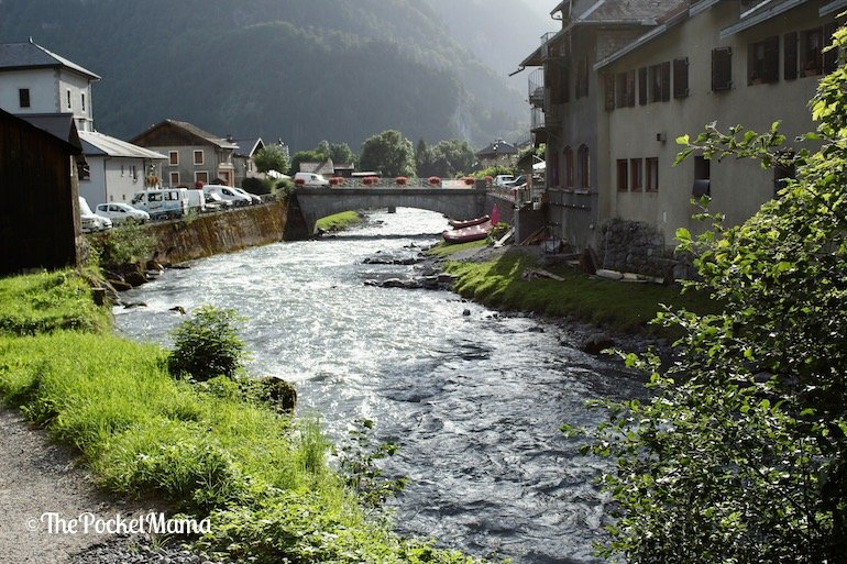 fiume Giffre a Sixt-fer-a-cheval