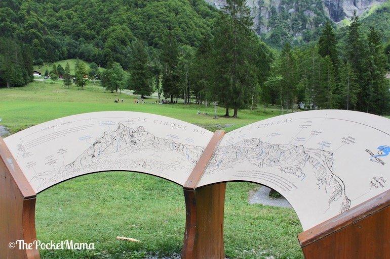 mappa cirque du fer a cheval