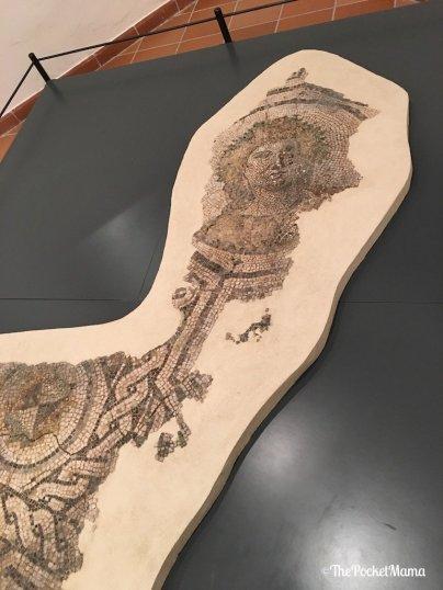 mosaico romano museo NOI