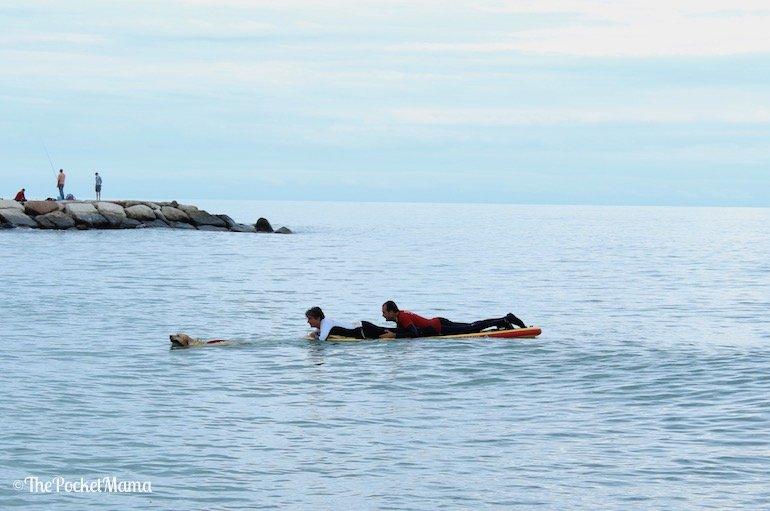 simulazione salvataggio in mare
