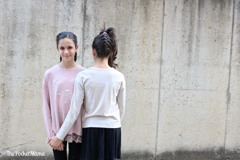 t-shirt rosa Mayoral autunno-inverno