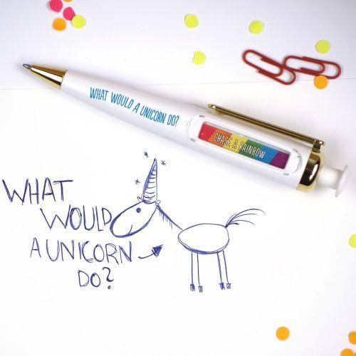 penna oracolo unicorno