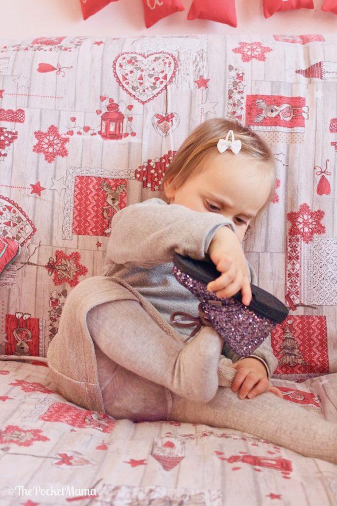 scarpine Melania per l'outfit di Capodanno