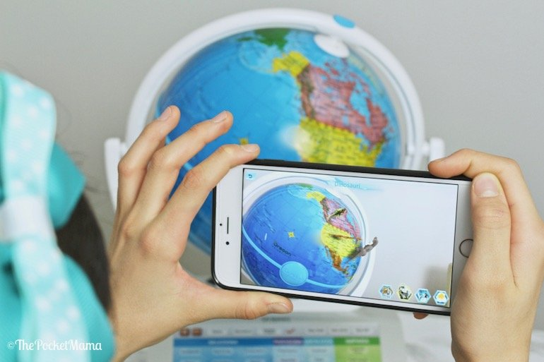 smartglobe explorer AR di oregon scientific