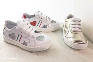 sneakers con dettagli glitter Melania SS 2018
