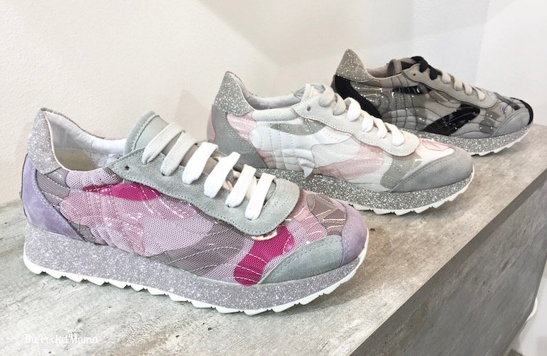 sneakers tessuto Ela Milani SS 2018