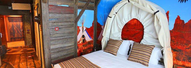 camera tematizzata Gardaland Adventure Hotel