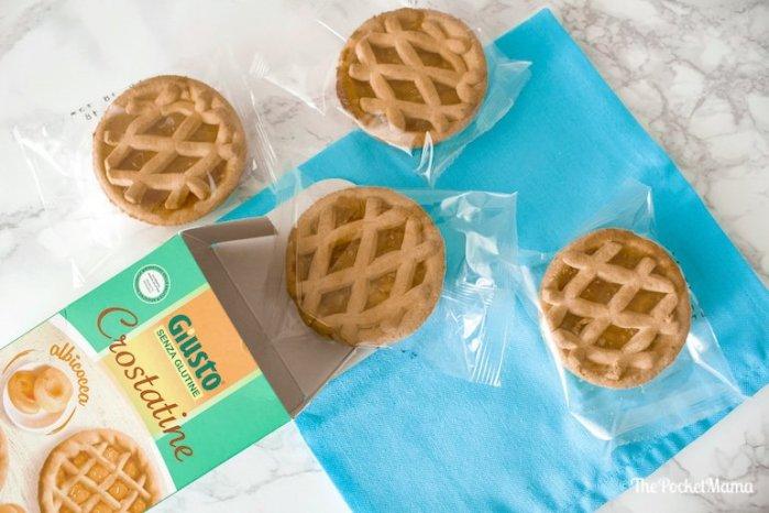 crostatine albicocca senza glutine
