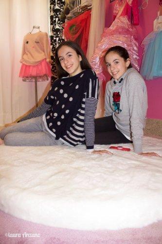 Nicole e Michelle nella stanza delle Principesse