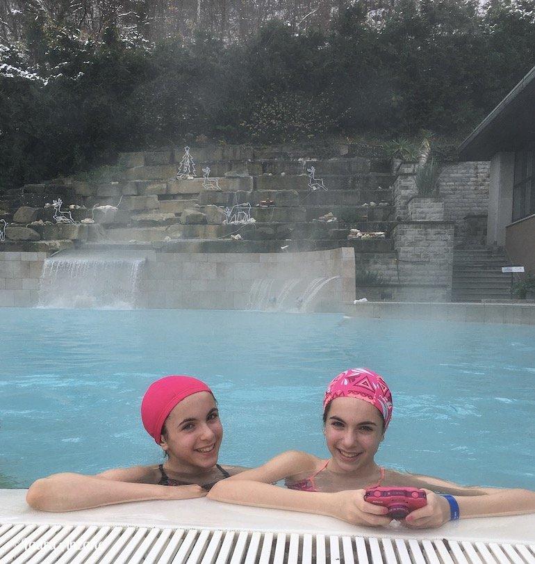 piscina termale Ròseo Euroterme
