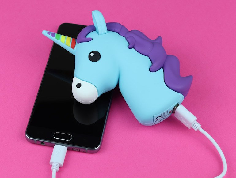 power bank-unicorno-dottorgadget