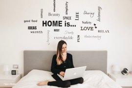 decorare casa con adesivi murali