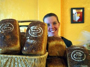 Yvette with Dear Grain bread