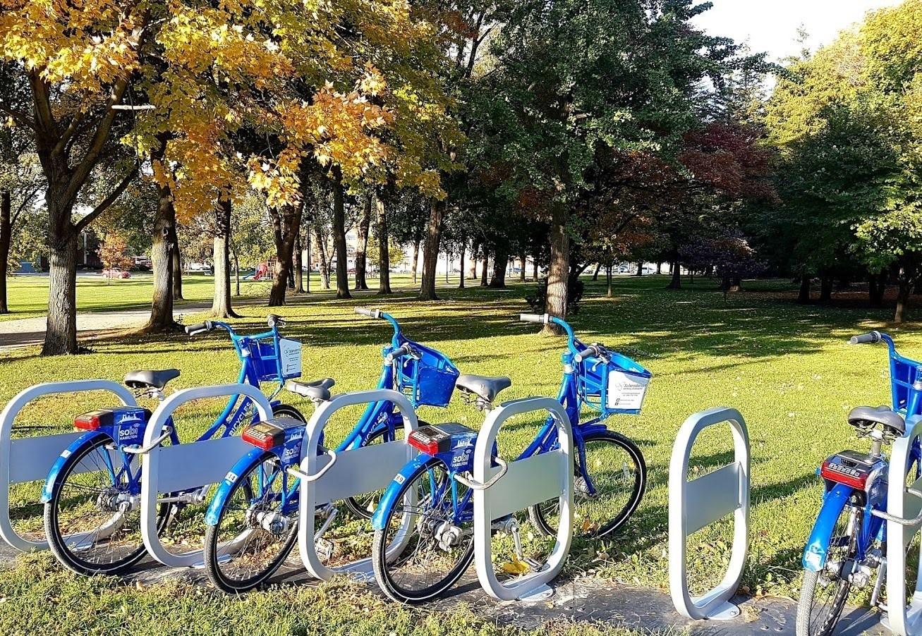 Sobi Bikes at Gage Park