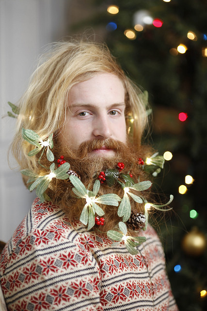 Christmas Beards Are A Thing The Poke