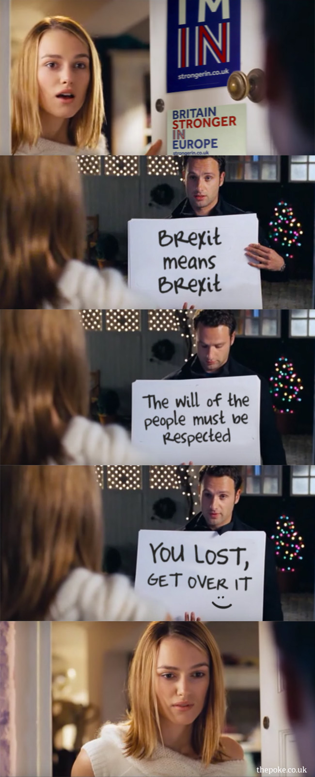 The Cue Cards Scene From Love Actually Updated For 2017