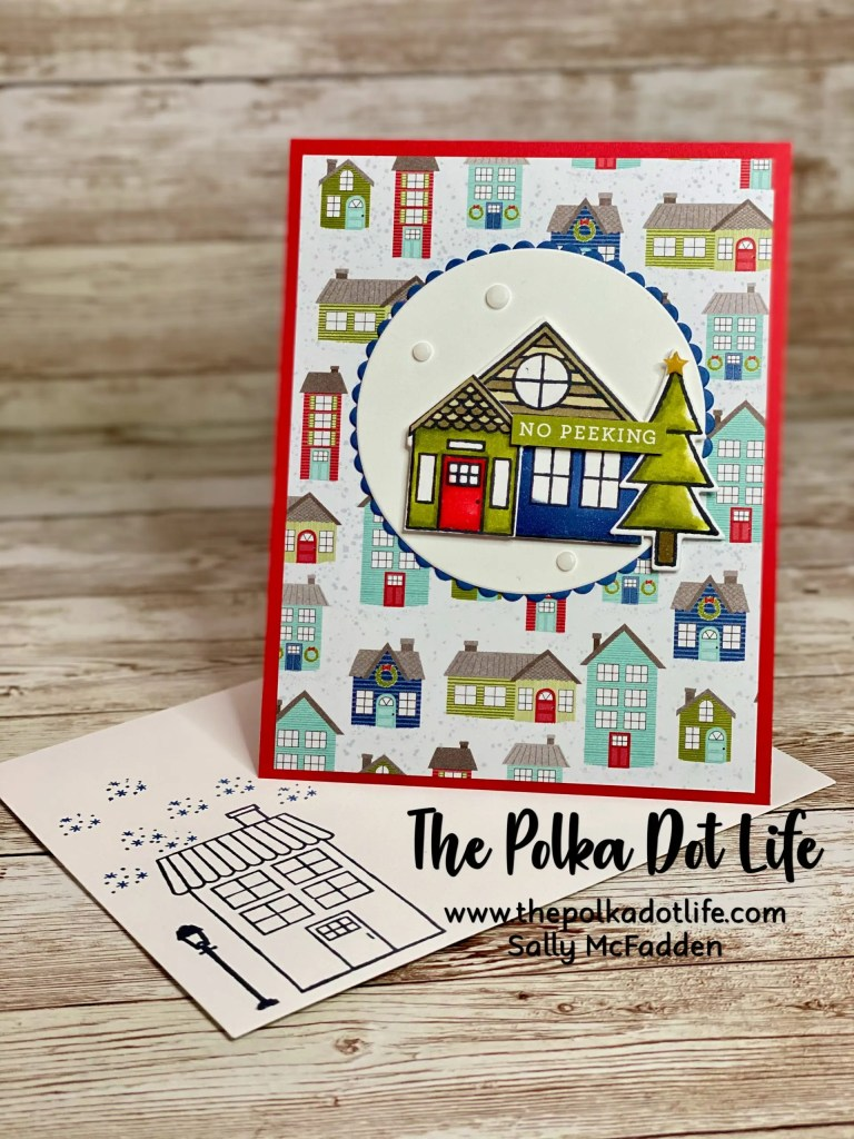 A fun fold greeting card made with Stampin' Up products.